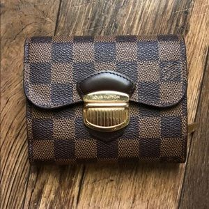 Louis Vuitton Damier Ebene Wallet Billfold